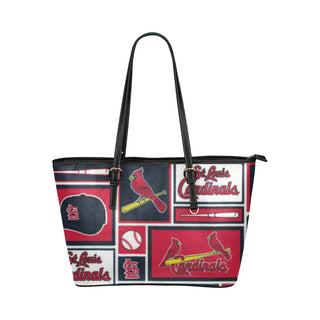 St Louis Cardinals Leather Tote Bag