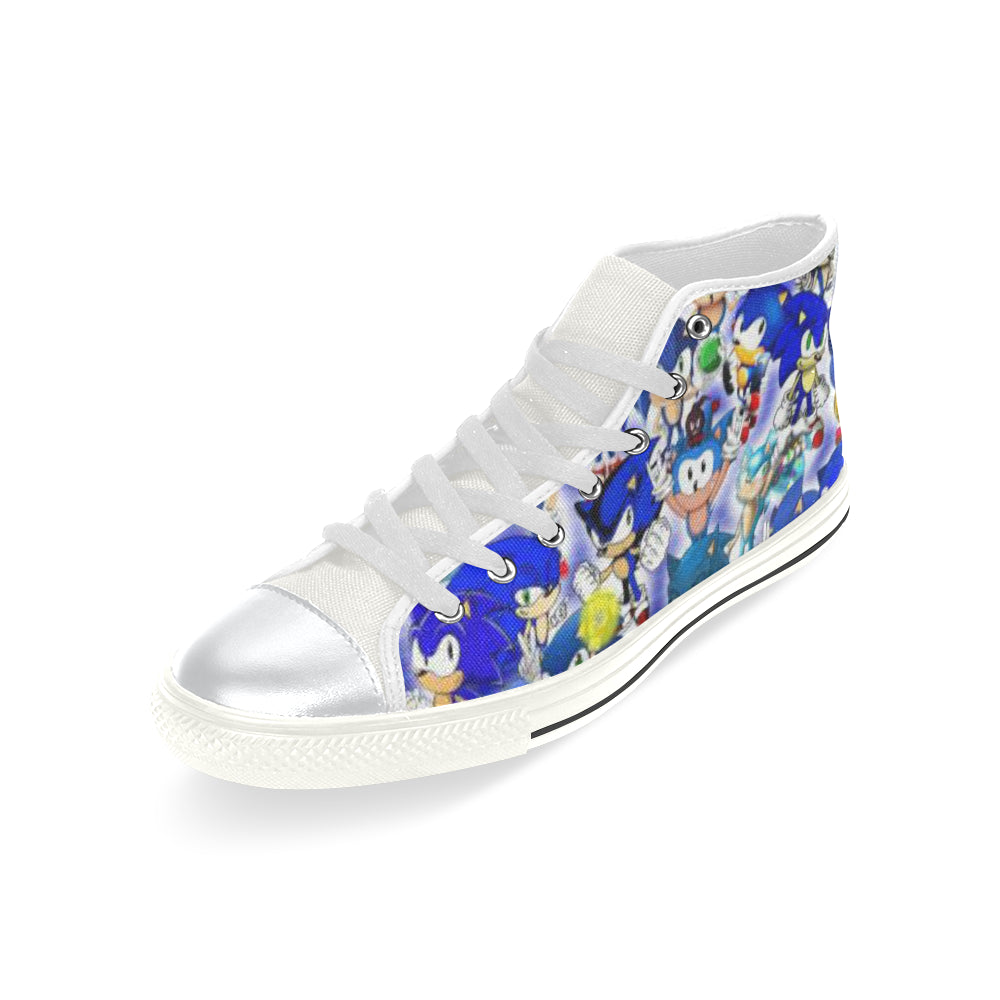 Sonic The Hedgehog High Top Canvas Shoes for Kid