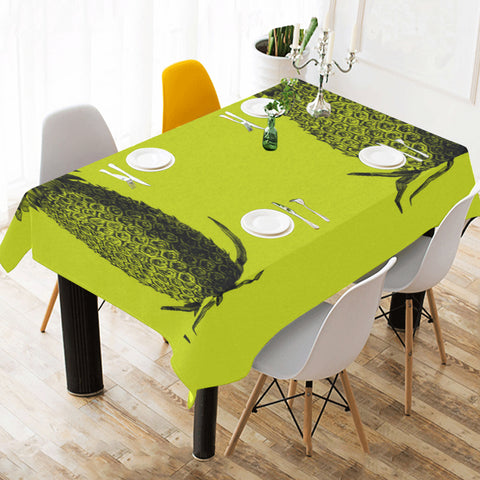 "Pineapple Tablecloth 90""x60"""