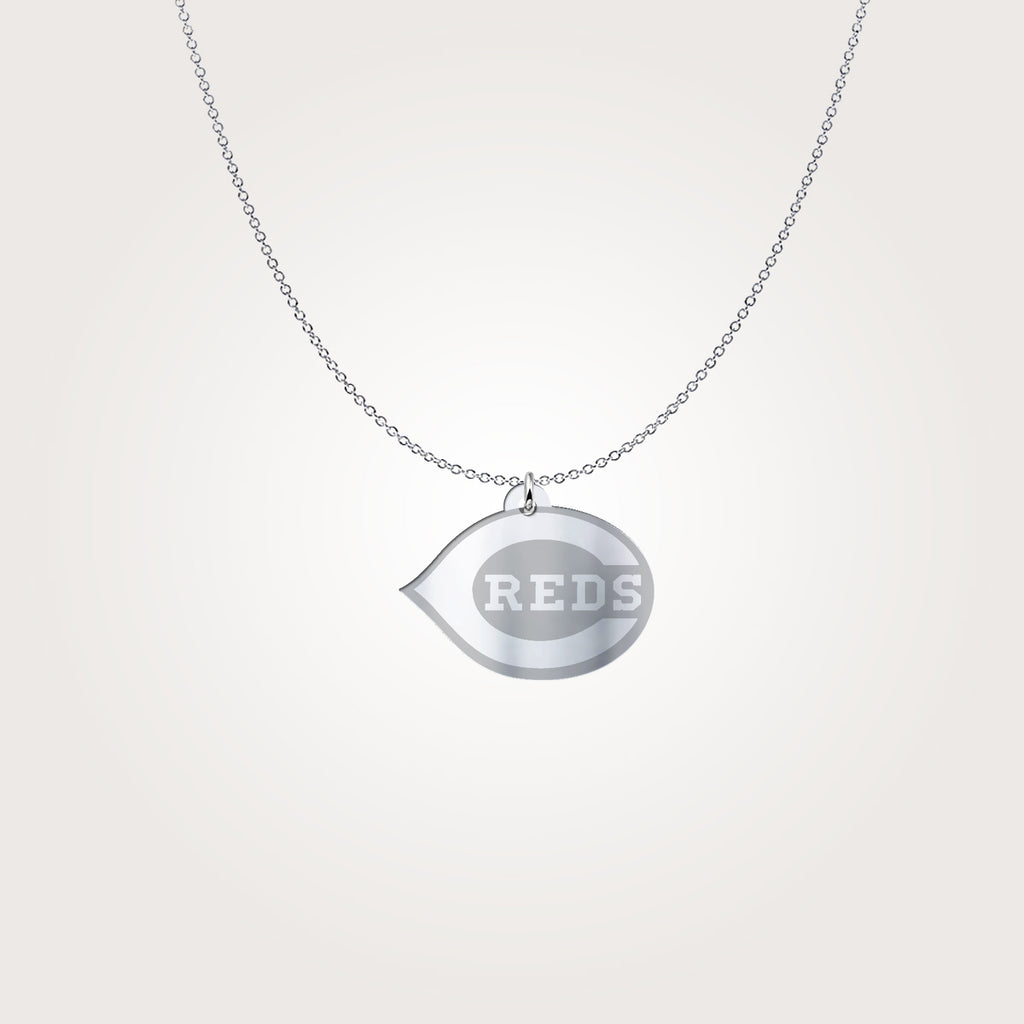 Cincinnati Reds Sterling Silver Pendant Necklace