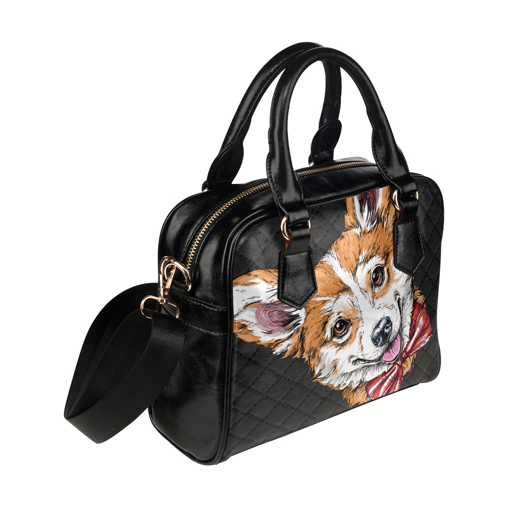 Corgi Shoulder Handbag