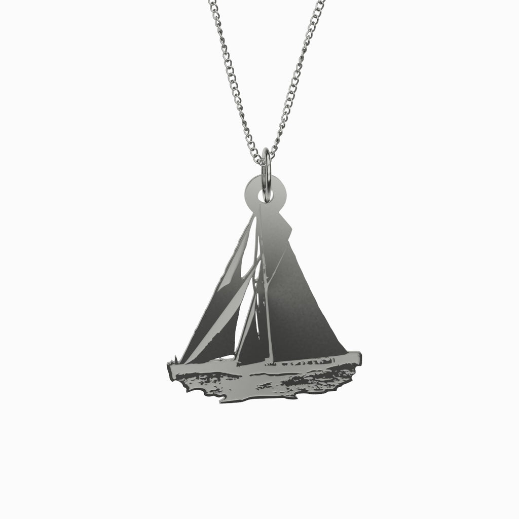 Sailboat Charm Pendant