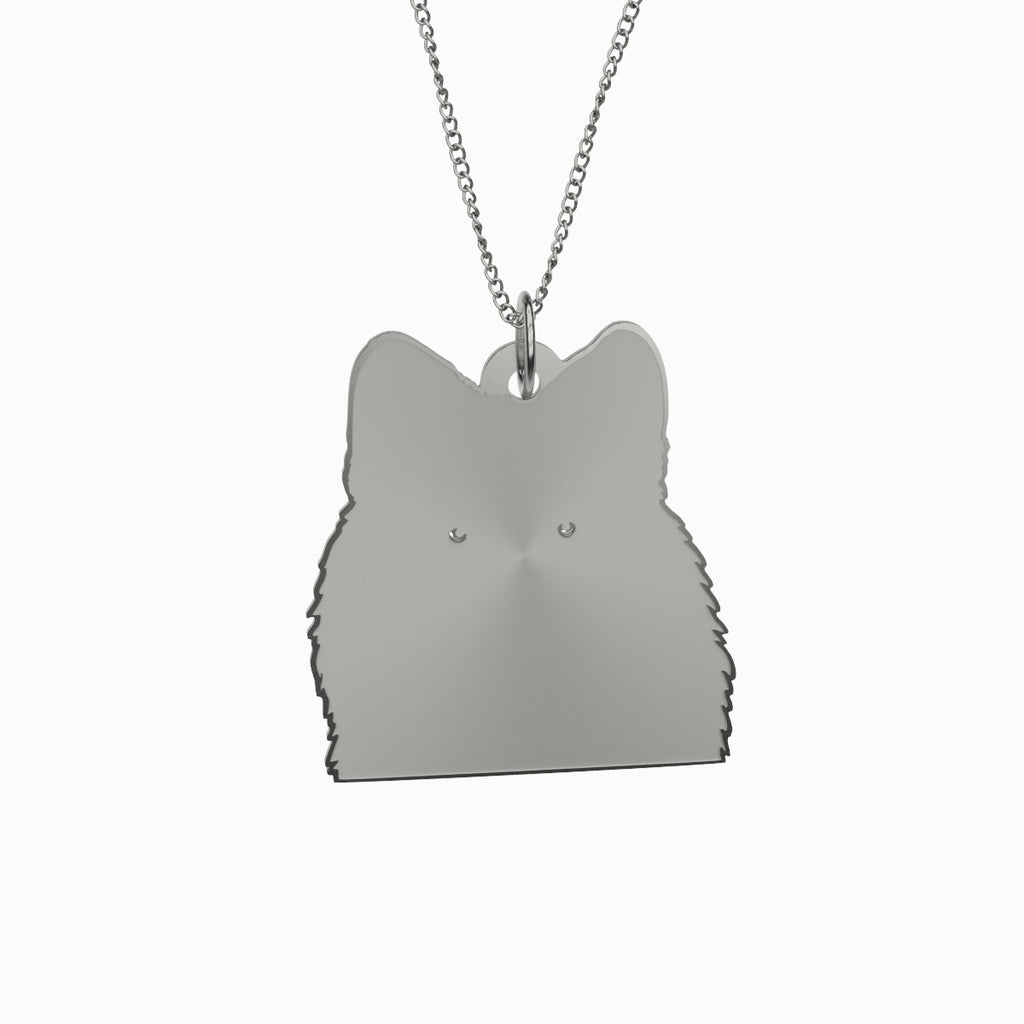 Wolf Necklace 925 Sterling Silver