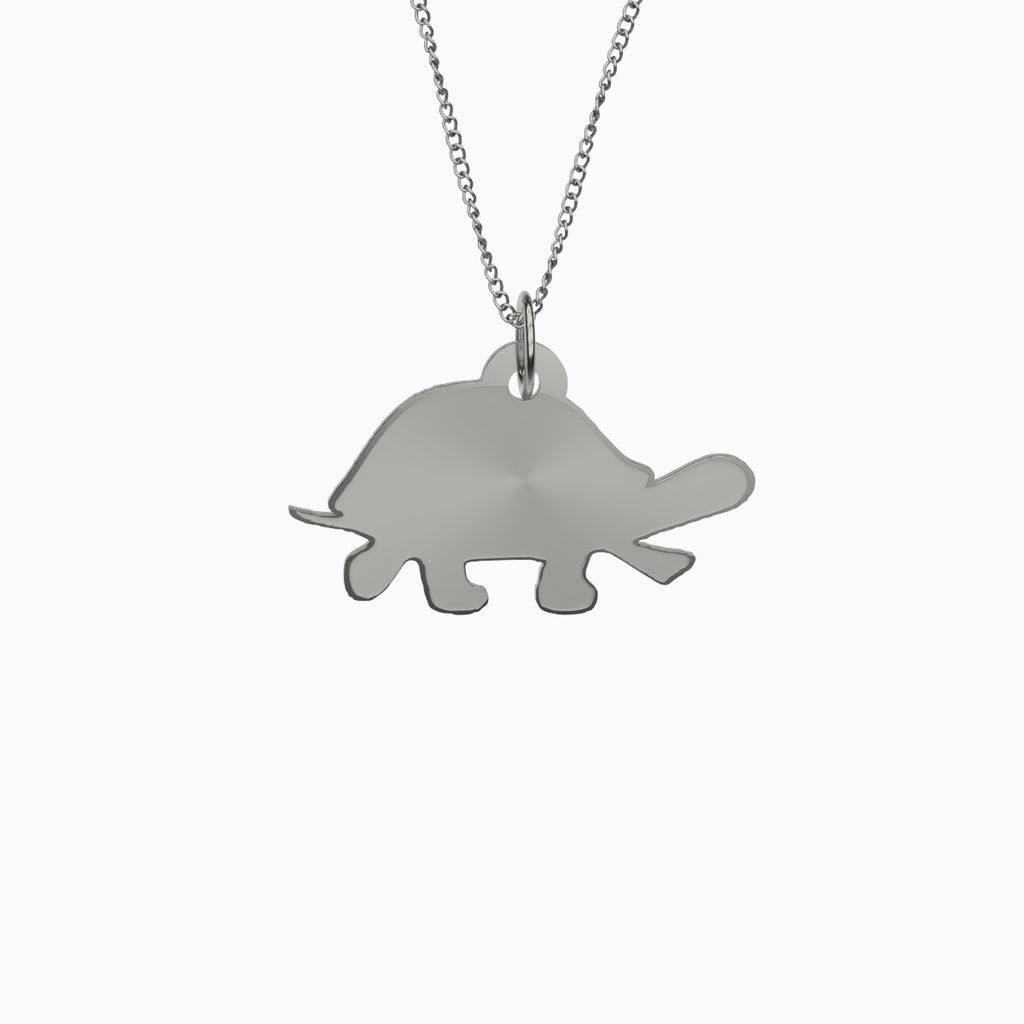 Turtle Necklace 925 Sterling Silver Pendant