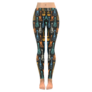 Guitar Leggings for Women S-5XL Plus Size