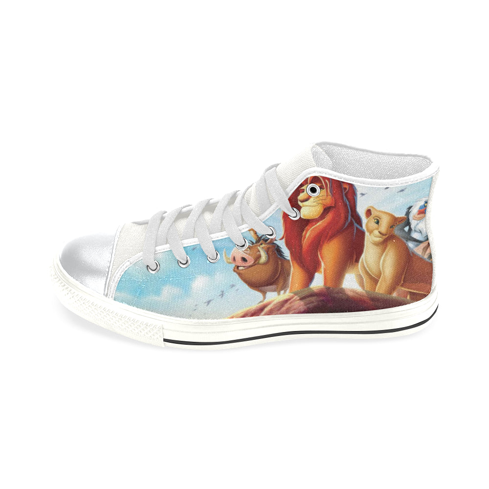Lion King Aquila High Top Canvas Kid's Shoes