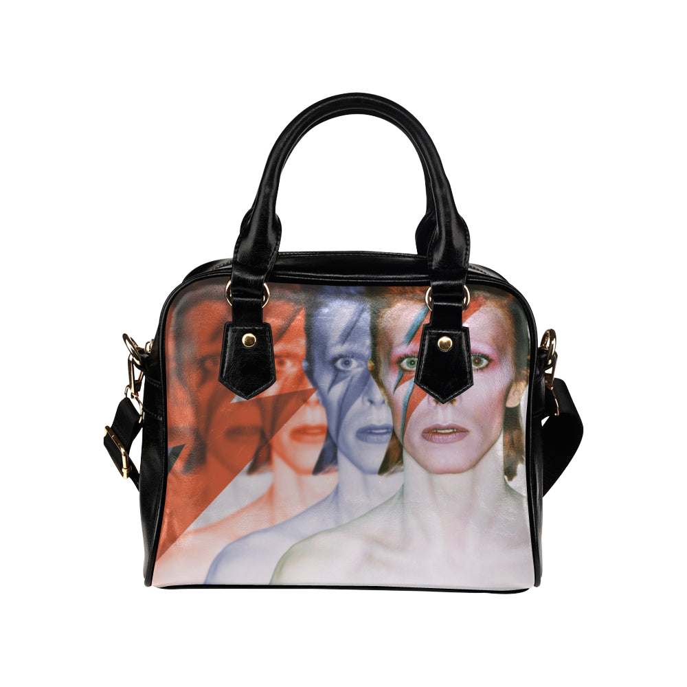 David Bowie Shoulder Handbag