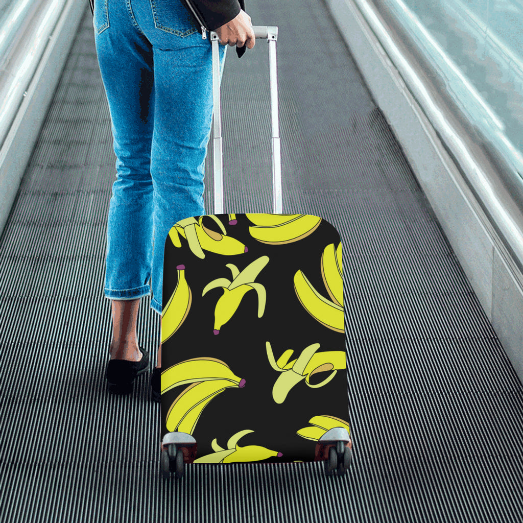 Food fruits bananas yellow blank Luggage Cover Cover (20'' x24'')