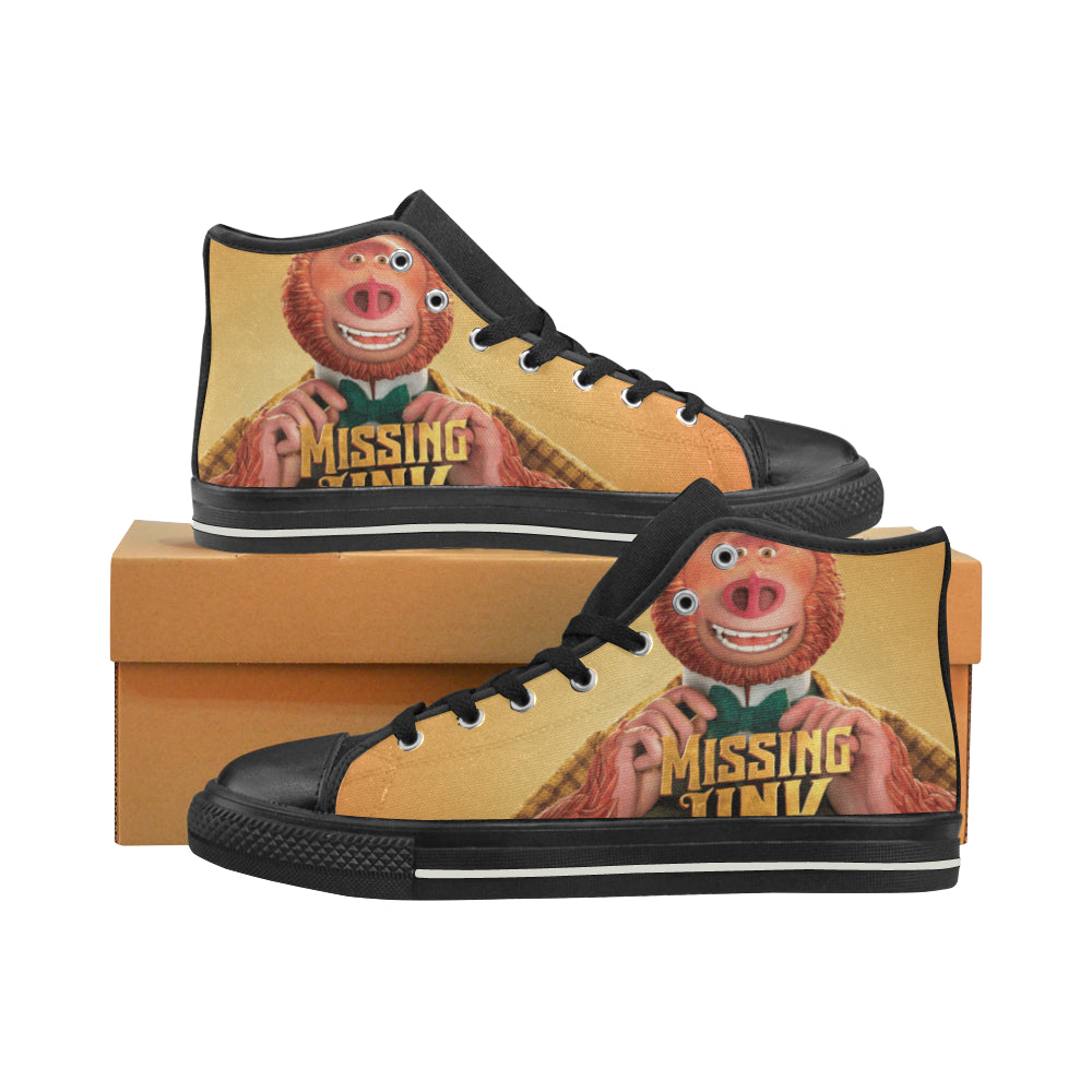 Missing Link Sneakers High Top Canvas Shoes for Kid