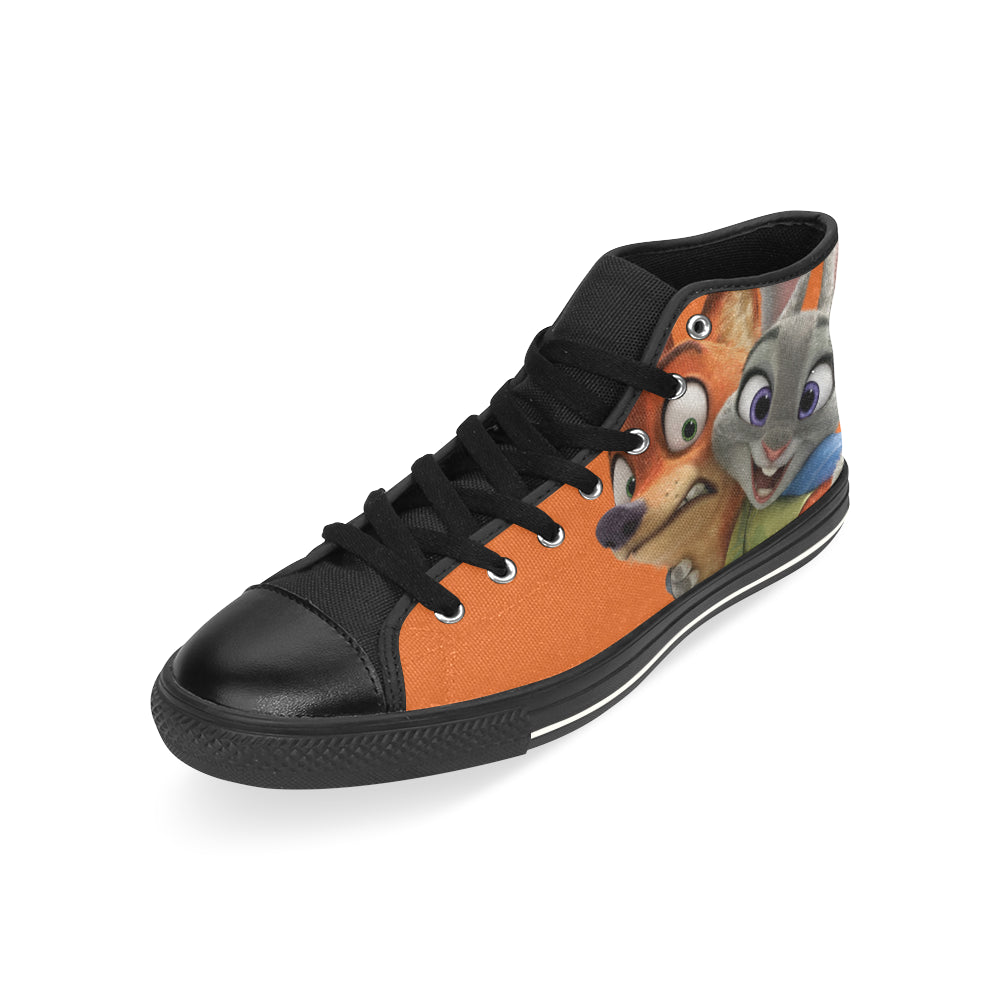 Zootopia Sneakers High Top Canvas Shoes for Kid