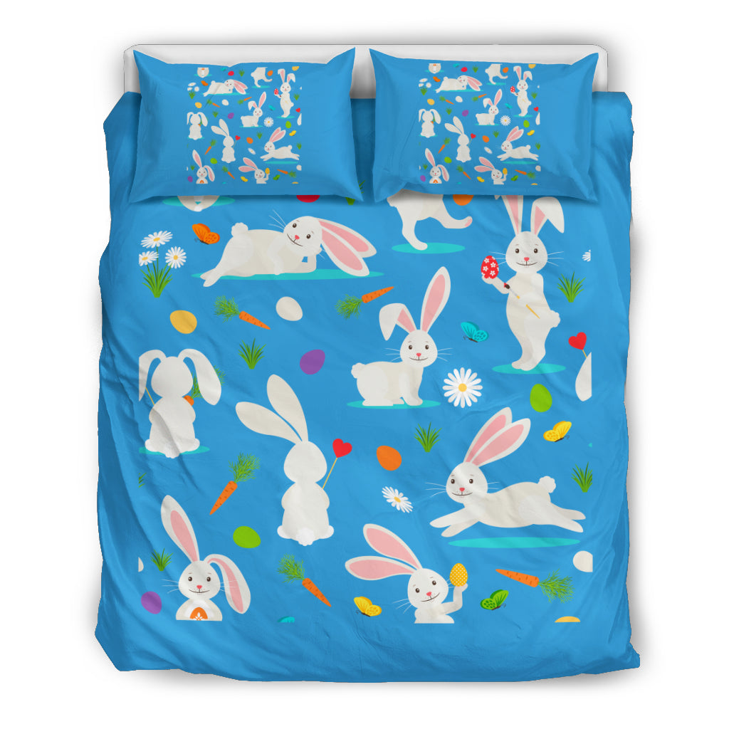 Rabbit Duvet Cover Rabbit Bedding Set