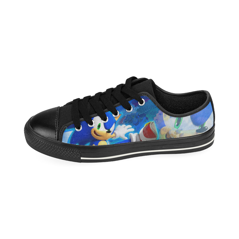 Sonic the Hedgehog Low Top Canvas Shoes for Kid