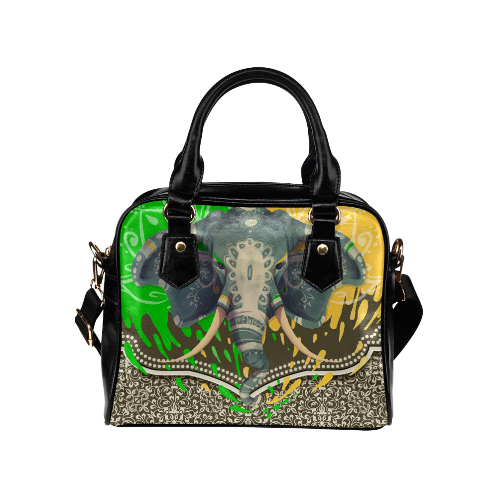 Elephant Shoulder Handbag