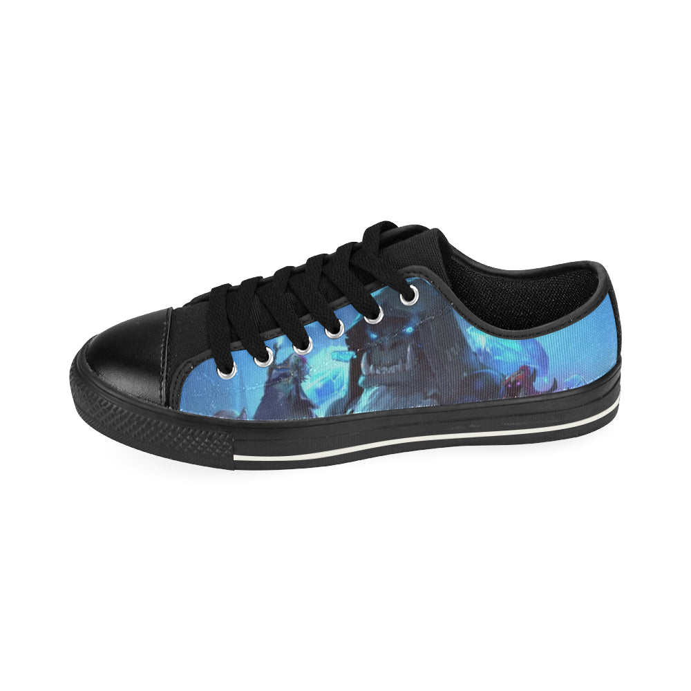 HearthStone Low Top Canvas Shoes for Kid