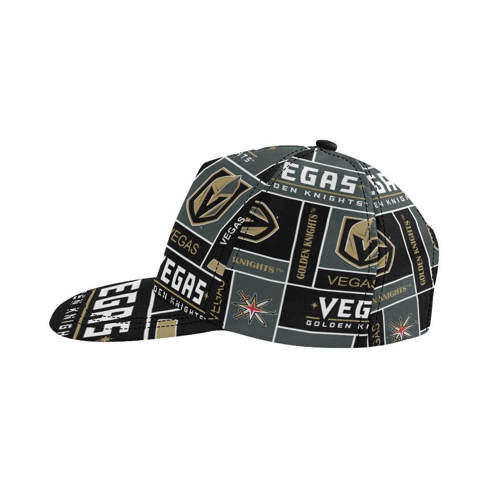 Vegas Golden Knights All Over Print Snapback Hat