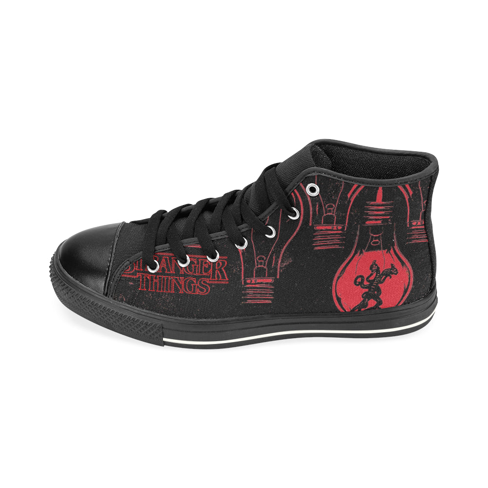 Stranger Things Sneaker High Top Canvas Shoes for Kid