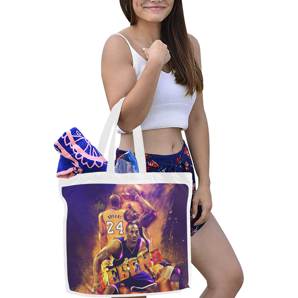 Kobe Bryant Canvas Tote Bag