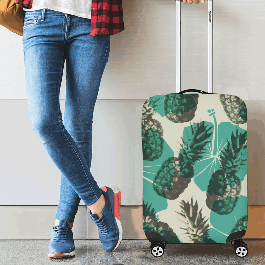 Cool Pineapple Luggage Cover Cover