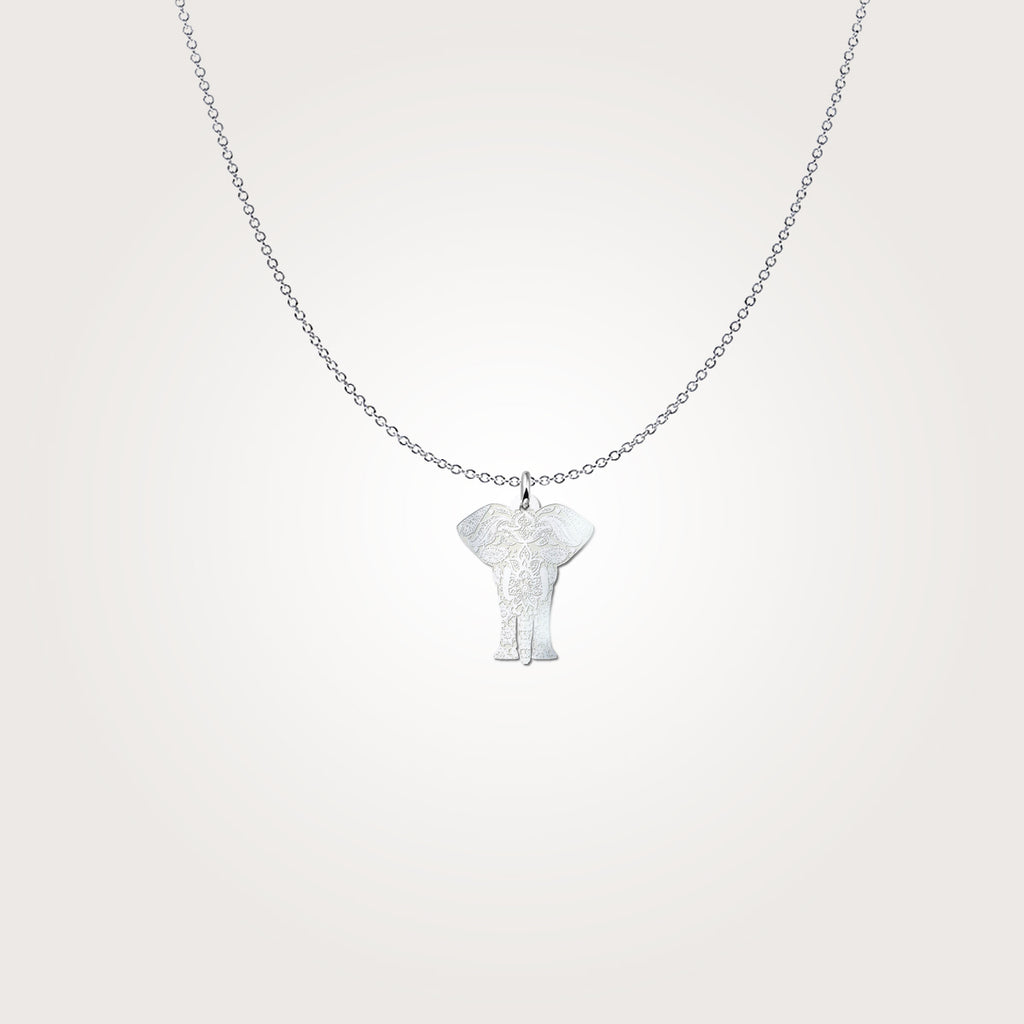 Elephant Necklace Pendant Jewelry