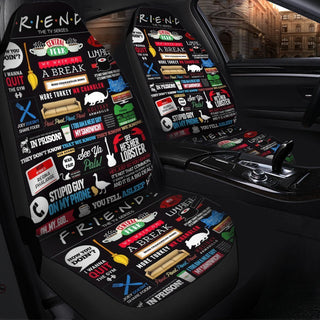 Friends TV Show Poster Car Seat Covers