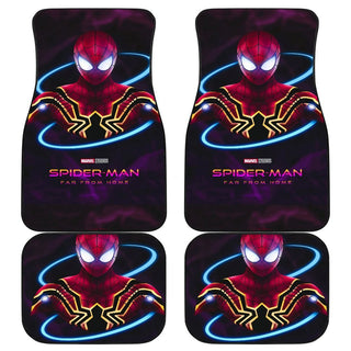 Spiderman Far Fromome Poster Car Floor Mats