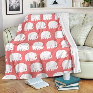 Cute Elephant Premium Blanket