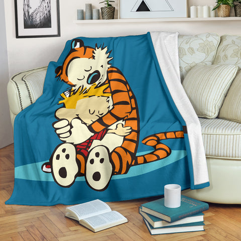 Calvin And Hobbes Blanket