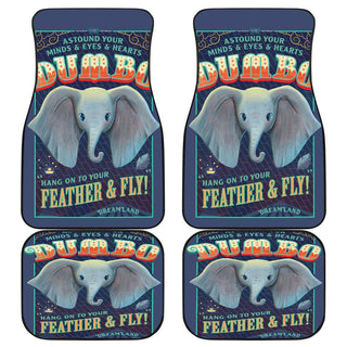 Dumbo Poster Front And Car Mats