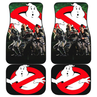 Ghostbuster Poster Funny Car Floor Mats
