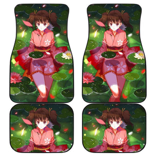 Koutetsujou No Kabaneri Charming Girl Car Floor Mats