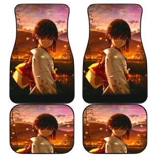 Promise Anime Charming Girl Car Floor Mats