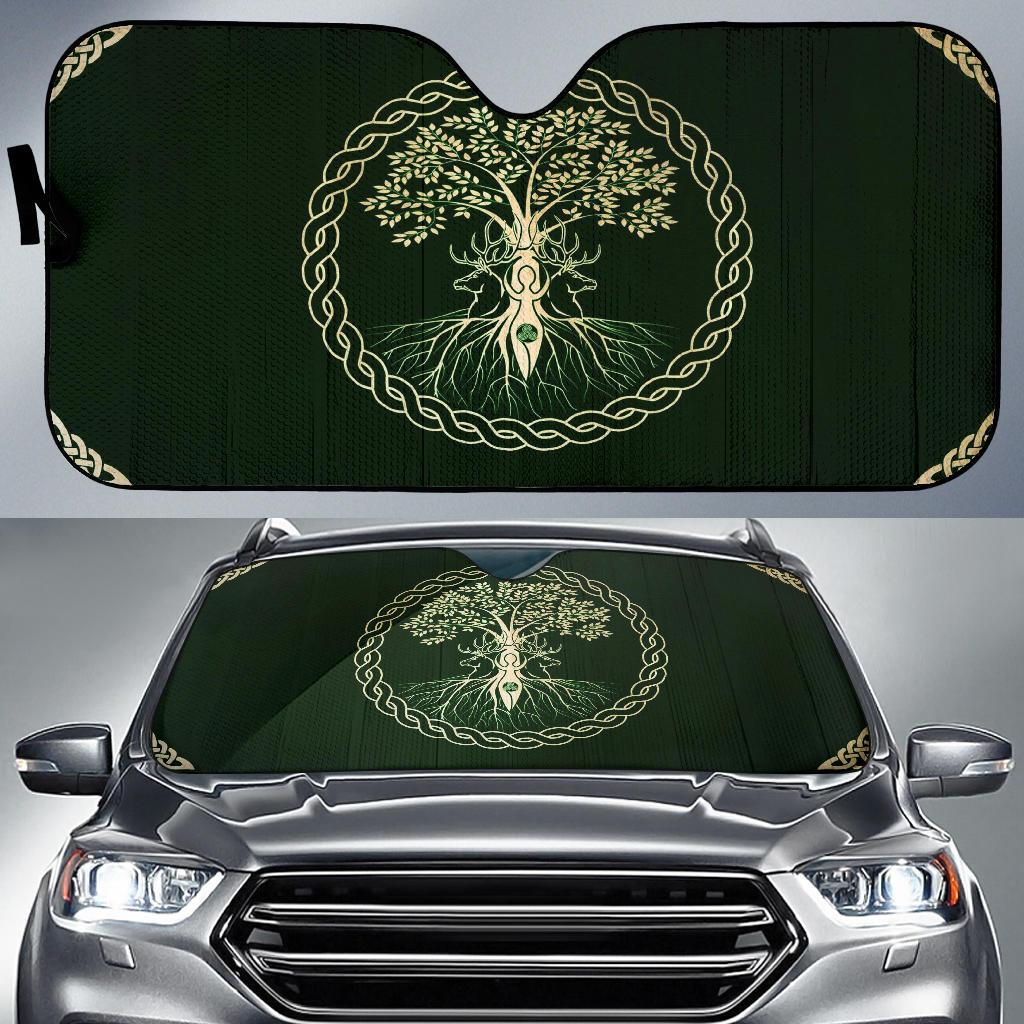 Viking Tree Auto Sun Shade Windshield