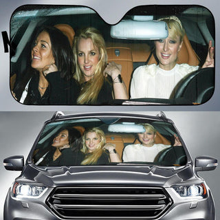 Paris Hilton Linsay Lohan Britney Spears Auto Car Sun Shade Windshield