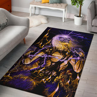Iron Maiden Area Rug