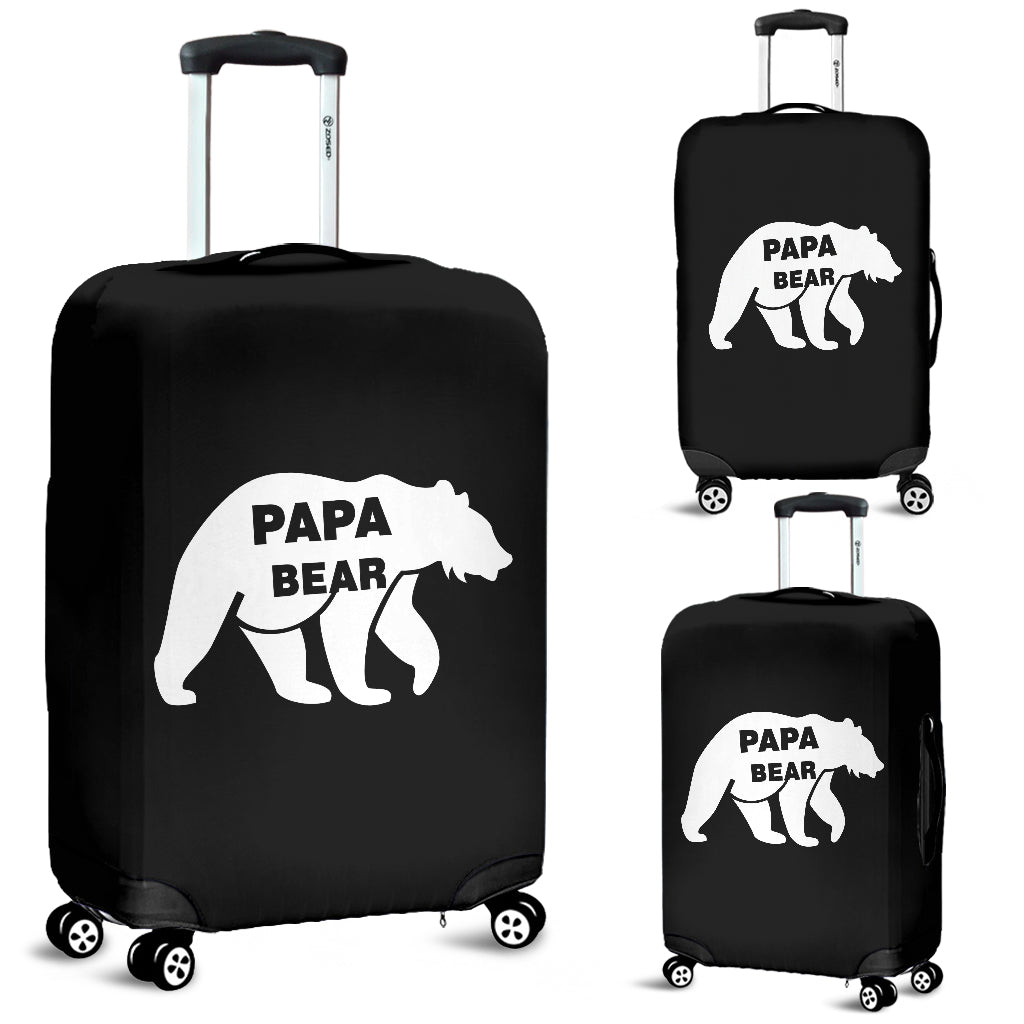 Papa Bear Luggage Cover