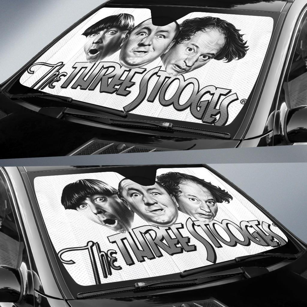 The Three Stooges Auto Sun Shade Windshield