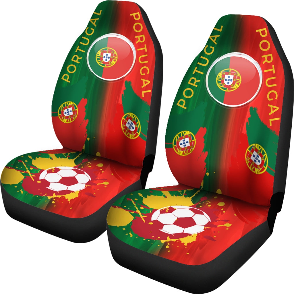 Football Portugal Car Seat Covers