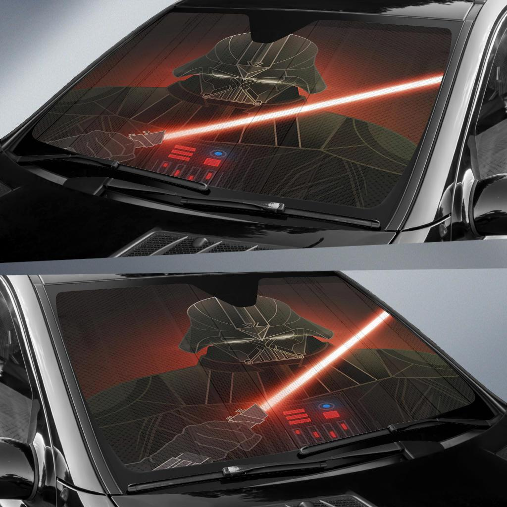 Darth Vader Star Wars Badass Auto Sun Shade Windshield
