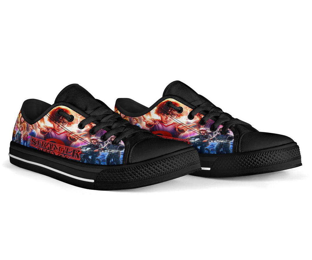 Stranger Things Shoes Low Top Sneakers