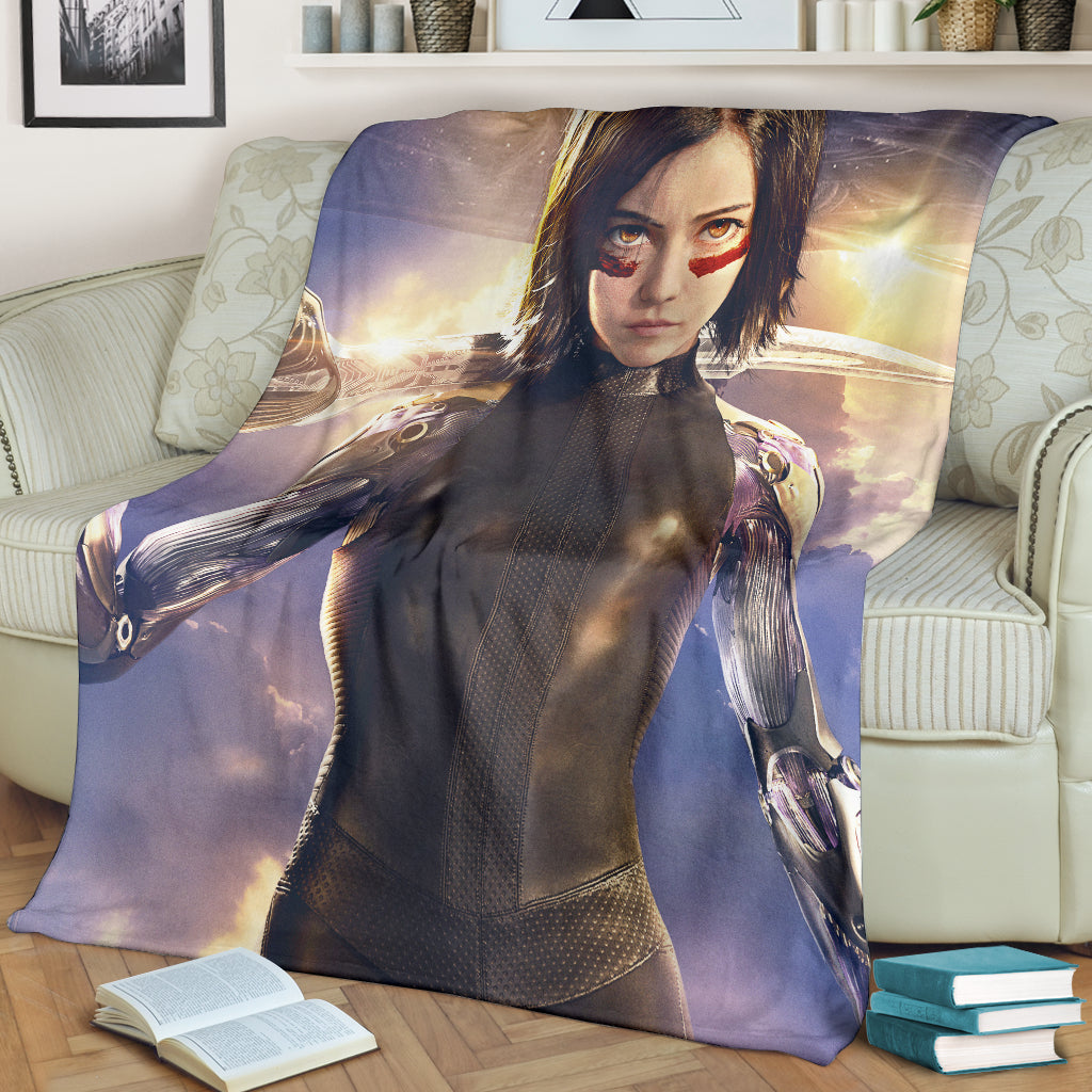 Alita Battle Angel Blanket