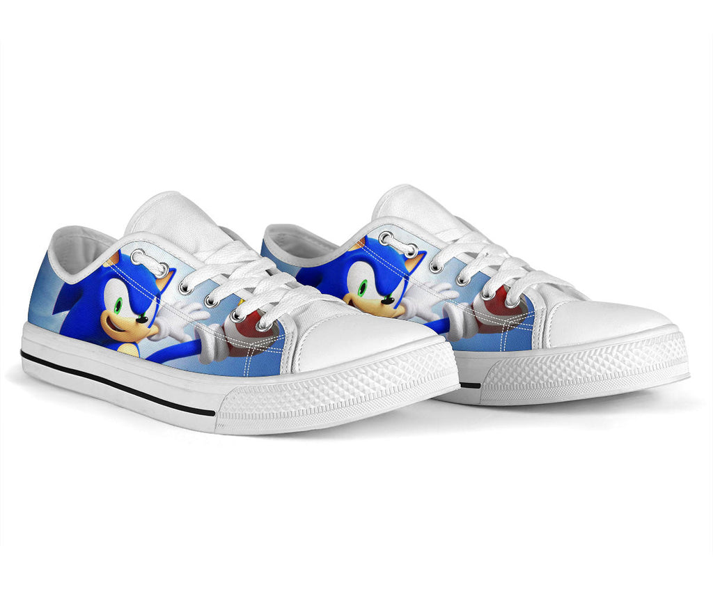 Sonic the Hedgehog Shoes Low Top Sneakers