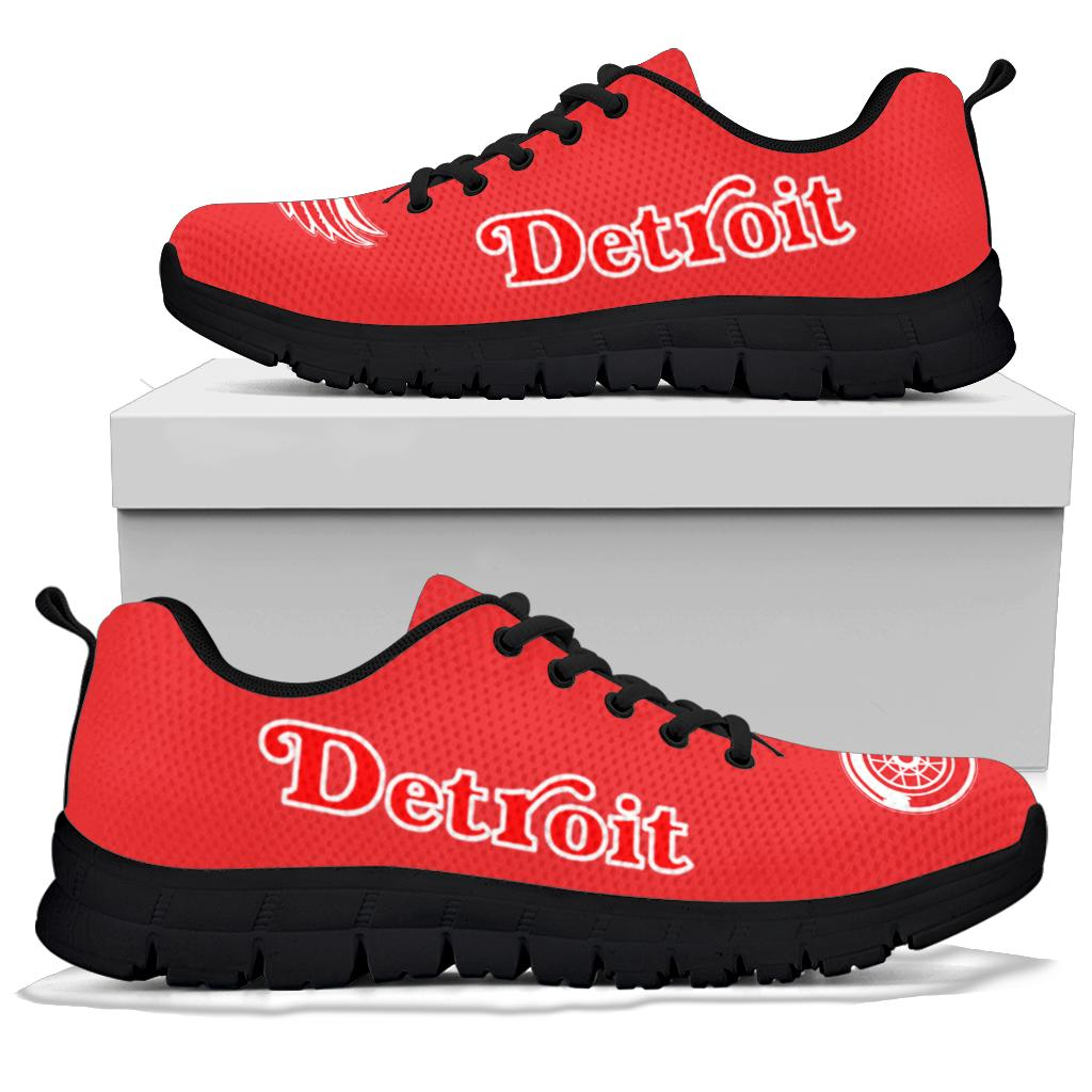 Detroit Red Wings Sneakers Running Shoes