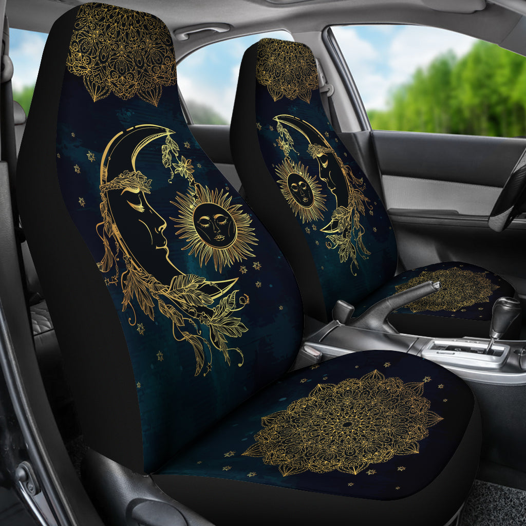 Sun Moon Car Seat Covers