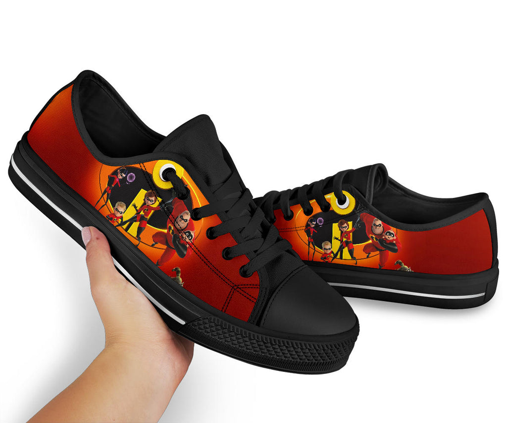Incredibles Shoes Low Top Sneakers