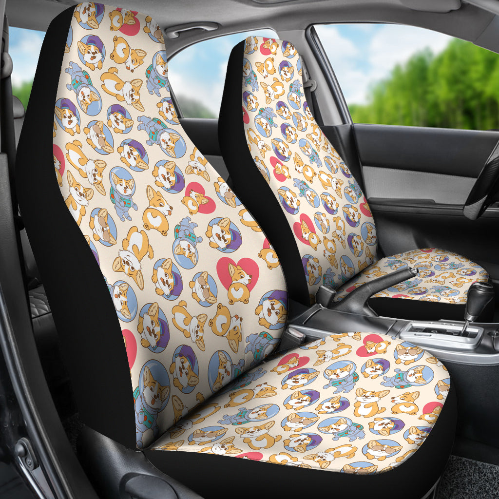 Corgi Pet Car Seat Cover