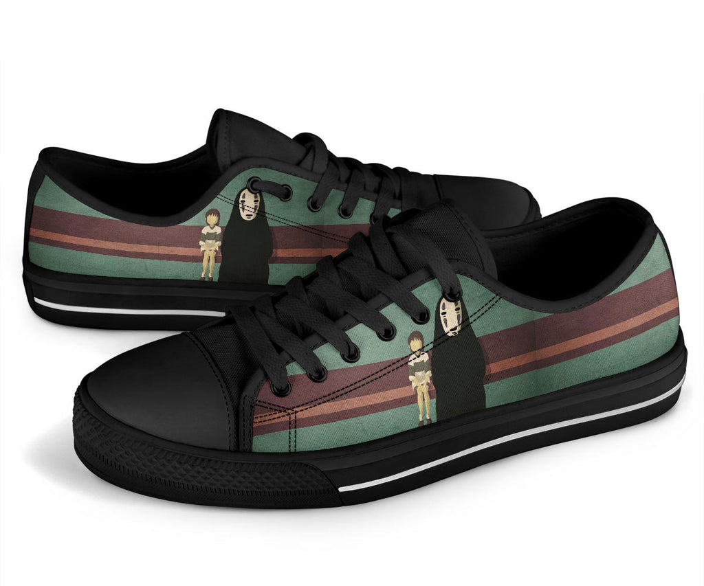 No Face Spirited Away Shoes Low Top Sneakers