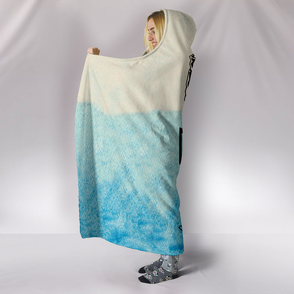 Fishing Hoodie Blanket - Fishing Life