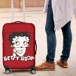 Betty Boop Luggage Cover