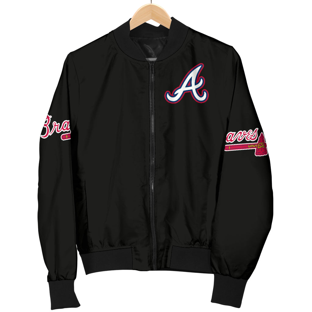 Atlanta Braves Jacket Women's Bomber Jacket