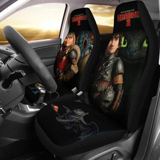 Hiccup & Astrid How To Train Your Dragon 2 Car Seat Covers